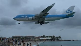 Download Farewell Boeing 747 - Maho Beach (Sint Maarten) Video