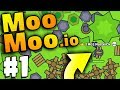 Download STRONGEST & BIGGEST BASE EVER!! | MooMoo.io | Games Like Slither.io | Moomoo.io Part 1 Video
