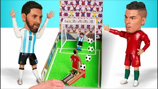 Download Make A Football Penalty Game And Play With Your Friends! Fun DIY Project Video