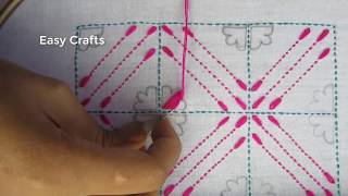 Download Hand Embroidery Nakshi kantha Design Drawing Stitching, New Nakshi Kantha Design Video