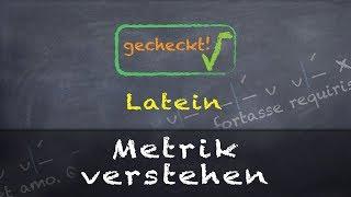 Download Latein - Metrik - mit einem Beispiel einfach erklärt! Video