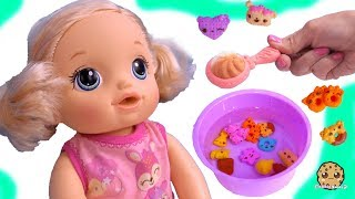 Download Feeding Baby Alive Num Noms Magic Cereal Surprise Blind Bags - Toy Video Video