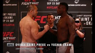 Download Fight Night Japan: Weigh-in Faceoffs Video