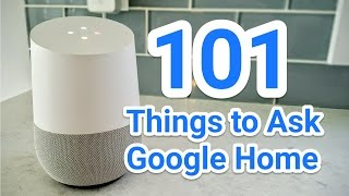 Download 101 Things to Ask Google Home Video