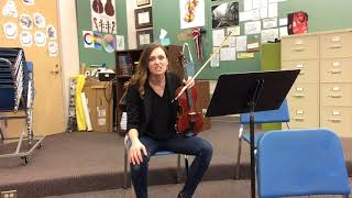 Download A Day in the Life of a Middle School Orchestra Teacher Video