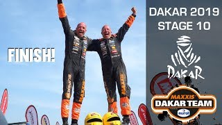 Download FINISH final stage Dakar 2019 The Beast Tim and Tom Coronel Video