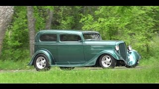 Download 1934 Chevy Sedan - The Texas Outlaw Hot Rod Video