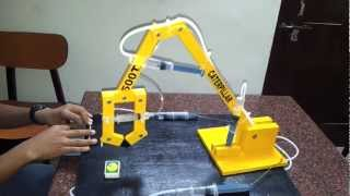 Download HYDRAULIC ARM PROJECT Video