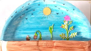 Download ″Plants grow from seeds″ science project, TLM working model Video