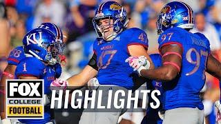 Download Kansas vs. TCU | FOX COLLEGE FOOTBALL HIGHLIGHTS Video