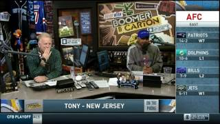Download Boomer and Carton - Classic Craig vs Tony from NJ - Giants Caller Video