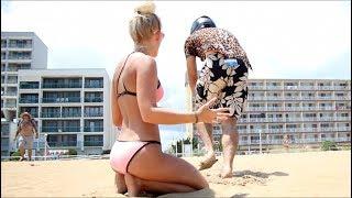 Download I smashed her sand castle Video