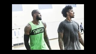 Download Lebron James Plays Basketball At UCLA Vs. Liangelo Ball And NBA Players! Video