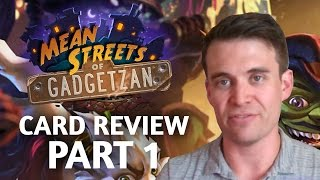 Download (Hearthstone) Mean Streets of Gadgetzan: Card Review Part 1 Video