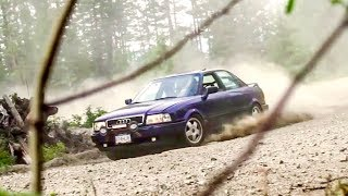 Download We Destroyed this Mountain in an Audi Quattro Rally Car! Video