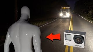 Download gopro mannequin footage goes thru phantom truck on clinton road... (we see inside the ghost truck?) Video