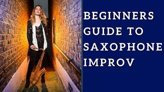 Download Sax Improvisation/improv (Video 1) BEGINNERS GUIDE. 🎶 Saxophone lesson/tutorial. Video