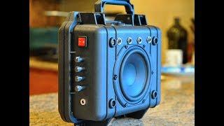 Download DIY Pelican 1200 HiFiBoomBox ver2 w/4 Channel Mixer & BBE Sound! Video