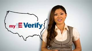 Download myE-Verify Create an Account Video