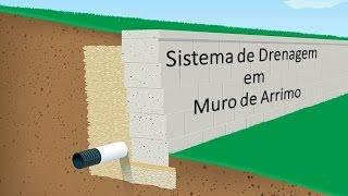 Download Sistema de Drenagem em Muro de Arrimo Impermeabilizado Video
