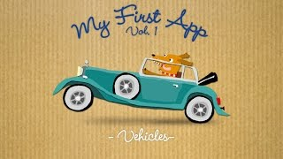 Download My First App - Vol. 1 Vehicles - Best App For Kids - iPhone/iPad/iPod Touch Video
