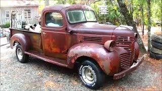 Download 1946 Dodge Gets Some Wheels Video