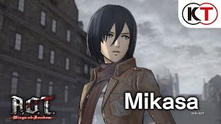 Download A.O.T. WINGS OF FREEDOM - MIKASA'S SHOWCASE Video