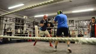 Download My first boxing sparring Video