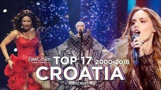 Download Croatia in Eurovision - Top 17 (2000-2018) Video