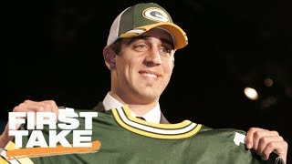 Download Stephen A. And Max's Back-And-Forth On Aaron Rodgers, 2005 NFL Draft | First Take | April 26, 2017 Video