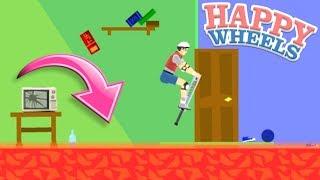 Download EL PISO ES LAVA!! Hace 1 año que no jugaba esto!! - Happy Wheels Video