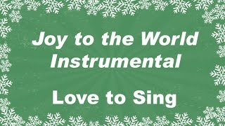 Download Joy to the World Instrumental with Lyrics | Christmas Carol | Children Love to Sing Video