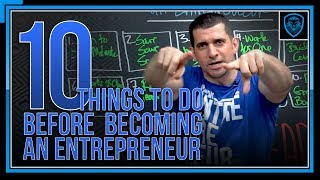 Download 10 Things To Do Before Becoming An Entrepreneur Video