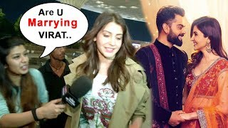 Download Anushka Sharma Leaves To MARRY Virat Kohli In Italy With Family Video