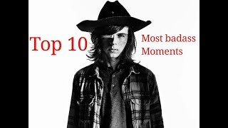 Download Carl Grimes Top 10 Most badass Moments Video