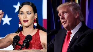 Download Celebrities React to Donald Trump Winning 2016 Presidential Election Video