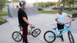 Download NOT DESTROYING A KID'S BIKE BUT STILL GIVING HIM A BRAND NEW ONE!! Video