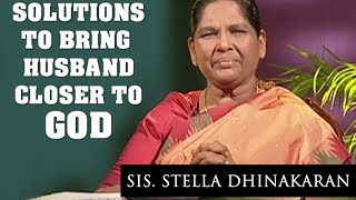 Download Solutions To Bring Husband Closer To God (English - Hindi) | Sis. Stella Dhinakaran Video