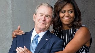 Download George W. Bush and Michelle Obama: An unlikely friendship Video