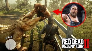 Download The Legendary Alligator Eats Pig Farm Brother! - Red Dead Redemption 2 Video