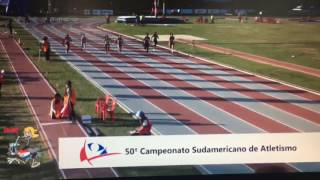 Download Ángela Tenorio, campeona sudamericana en 100 m planos Video