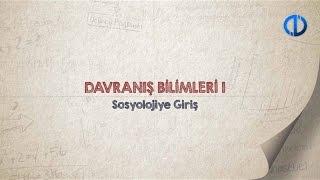 Download DAVRANIŞ BİLİMLERİ I - Ünite 1 Konu Anlatımı 1 Video