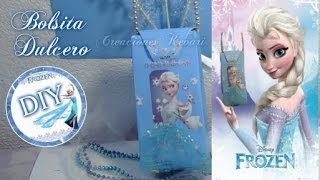 Download Bolsita o Dulcero Cajita Elsa de Frozen (Material reciclado) / Frozen's Elsa Candy Bag Video