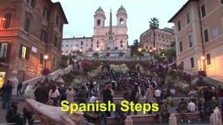Download Rome walking tour - travel video Video