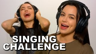 Download SINGING while wearing NOISE CANCELLING HEADPHONES! - Merrell Twins Video