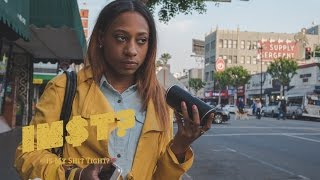 Download Childish Gambino - Redbone: STREET REACTIONS in Hollywood Video
