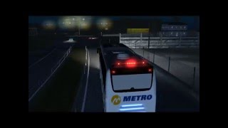 Download 18 Wos Haulin,Travego SHD 17 Metro Turizm Ordu-Samsun Video