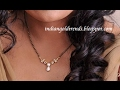 Download Simple Light Weight Diamond Mangalsutra Designs Video