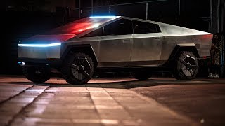 Download Tesla Cybertruck Test Ride and Impressions! Video