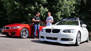 Download Stock BMW M4 vs tuned BMW 335i Video